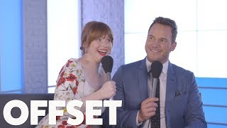 'We'd be good in-laws!' Chris Pratt and Bryce Dallas Howard want their kids to marry!