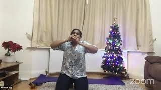 23-12-2020 - Hatha Yoga With Bhavnaben Jogi