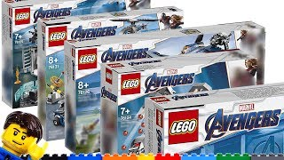 Baixar LEGO Avengers Endgame sets: Overview & thoughts