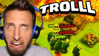 Clash of Clans | COME TROLLARE 40 MAGHI [BASE BASTARDA]