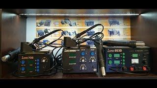 Как выбрать паяльную станцию. Термовоздушная паяльная станция LUKEY с феном.(, 2014-08-11T15:40:01.000Z)