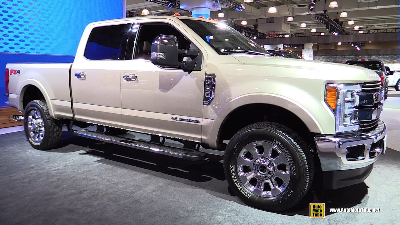 2017 Ford F350 Super Duty King Ranch Exterior And Interior Walkaround 2016 New York Auto Show