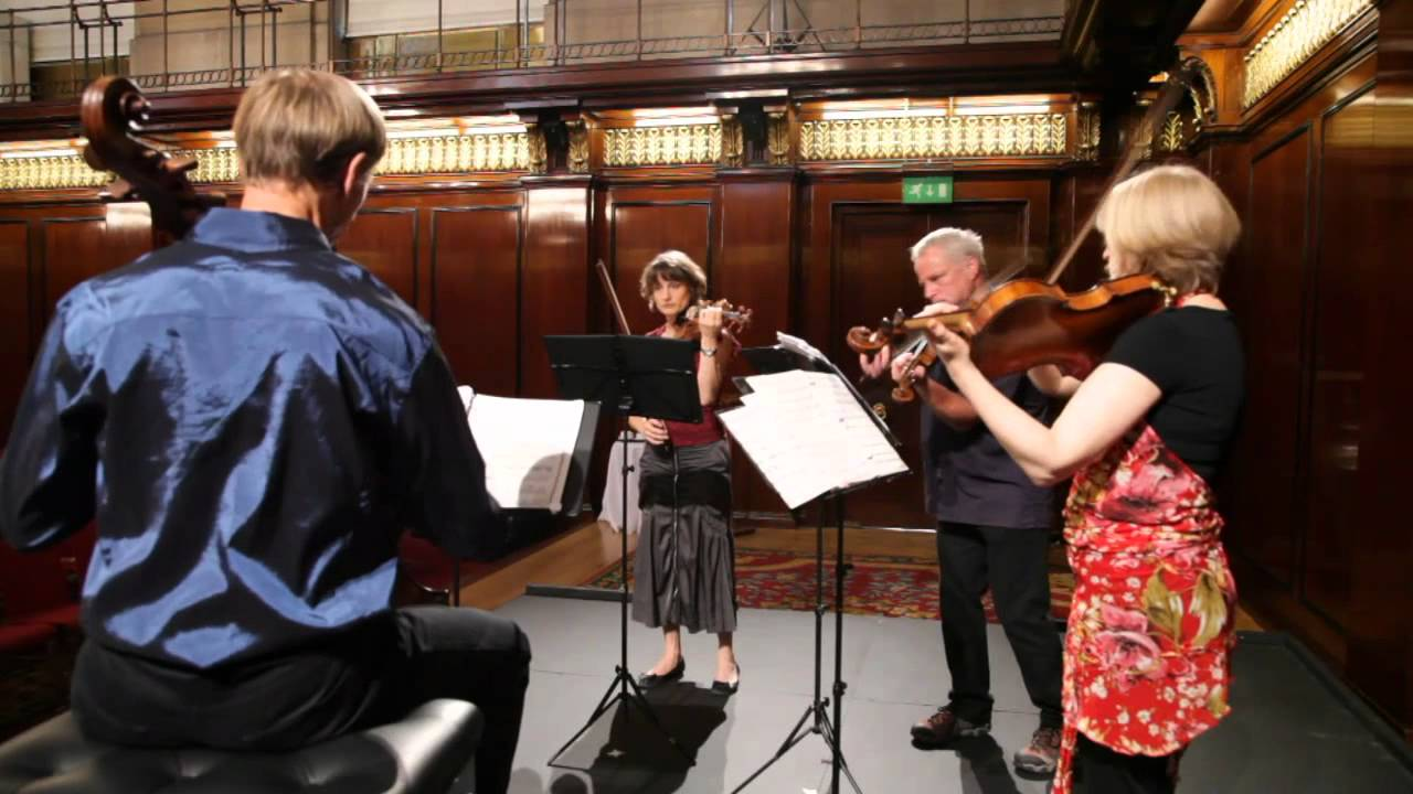 New Zealand String Quartet in London