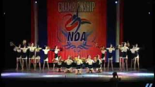 NDA Nationals 2009: Sachem North HS- Lg Varsity Pom 3rd place