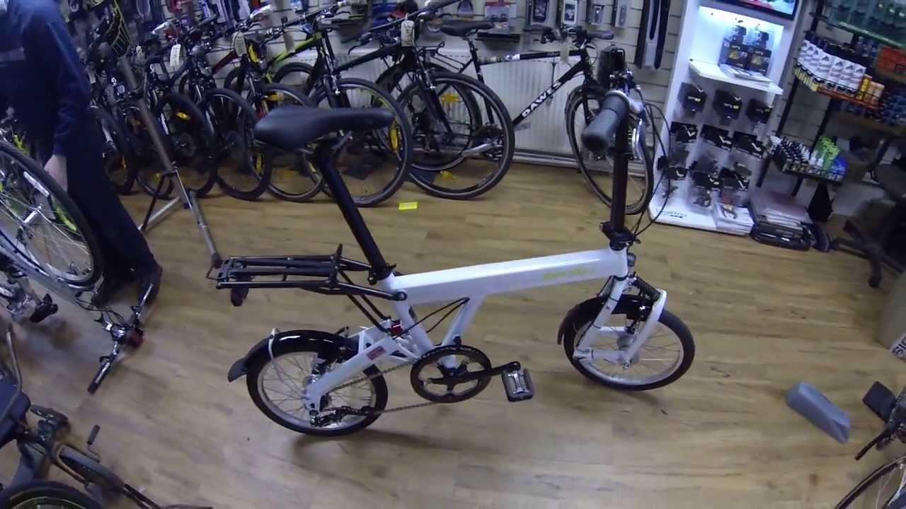 2013 Birdy Comfort Folding Bike Damian Harris Cycles Youtube