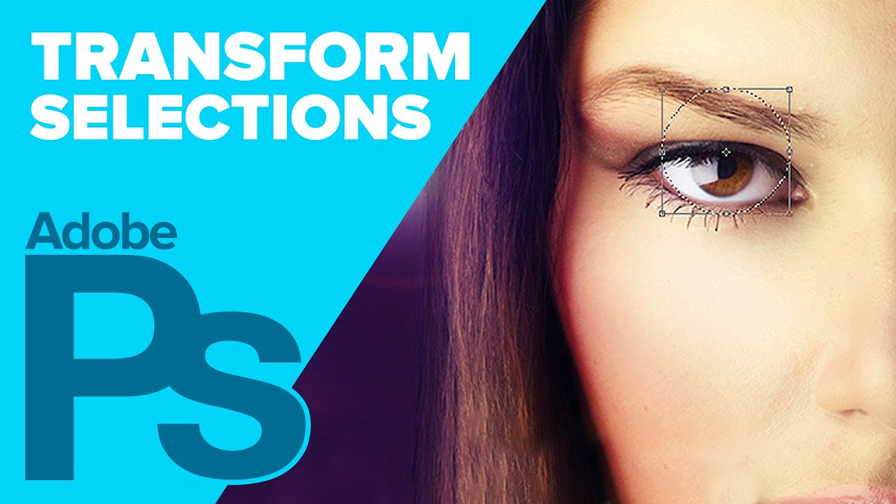 Transform Selections in Photoshop! | IceflowStudios