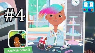 4 Çocuk için (Toca Boca AB Tarafından) 3 Toca Kuaför - en İyi Saç Kesme Uygulama - Bölüm
