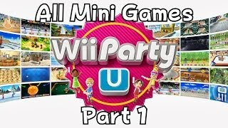 Wii Party U - All Mini Games Part 1