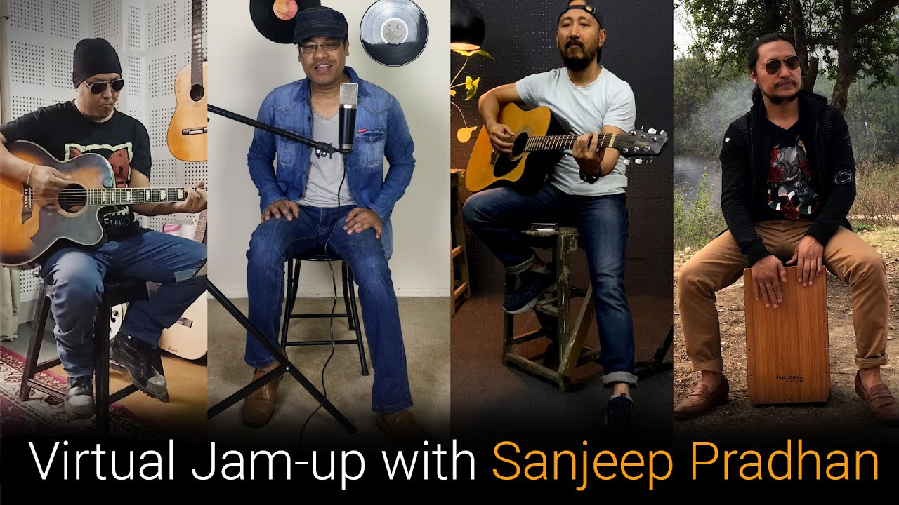Virtual Jam up with Sanjeep Pradhan in New Year 2078