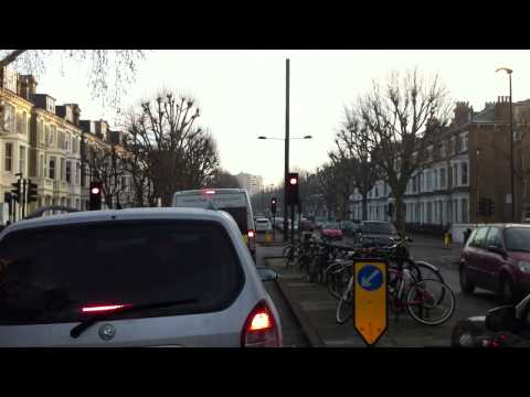 London Streets (502.) - Bayswater - Maida Vale - St.John's Wood -