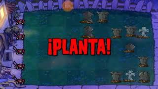 3.-plantas vs zombies 1( parte 3) carlos sg21