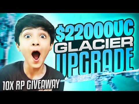$ 22000Uc | Glacier upgrade | 10 Rp Give Away | Little Zalmi