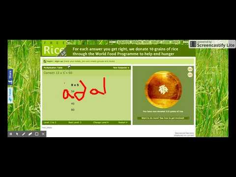 How To Hack FreeRice.com