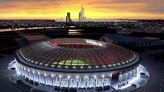 Презентация стадионов Чемпионата Мира 2018 по футболу