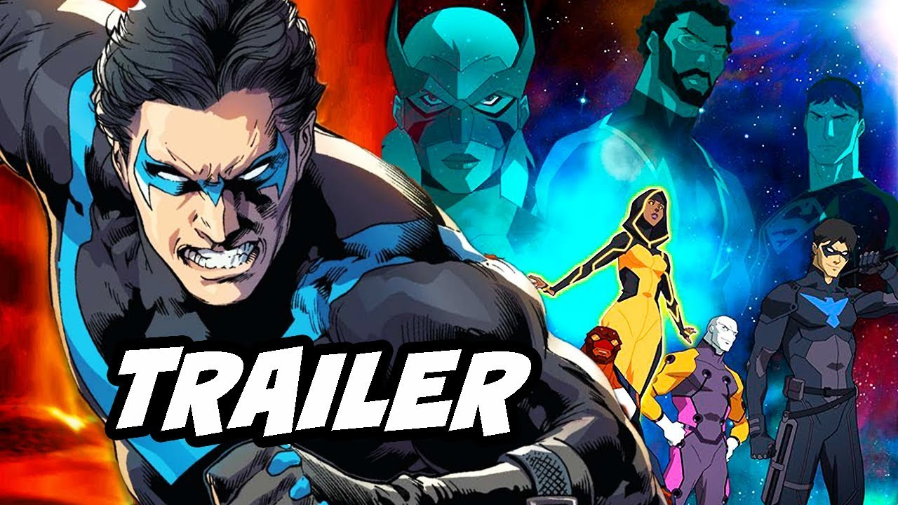 Young justice season 3 outsiders trailer nightwing scene and release date details youtube - Pictures of nightwing from young justice ...