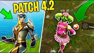 NEW THAT YOU DON'T know about FORTNITE's PATCH 4.2!!