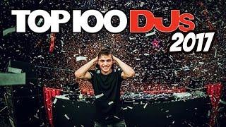 top 100 djs 2017