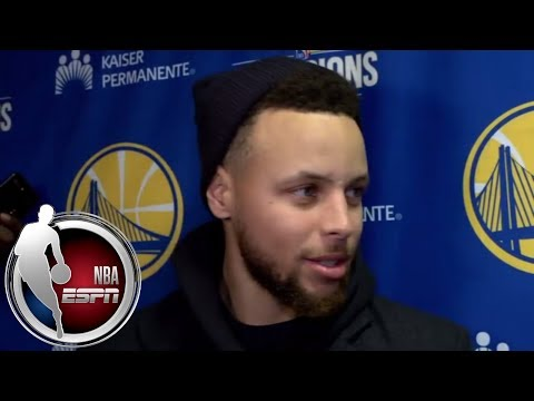 Stephen Curry jokes about his dunk vs. Cavs: 'Somebody said it was like a unicorn sighting' | ESPN
