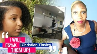 Black Mom Confront Male Bullies in Daughter's Classroom | @TonyaTko Reacts