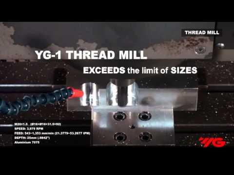 Cutwel TV - Solid Carbide Thread Mills by YG-1