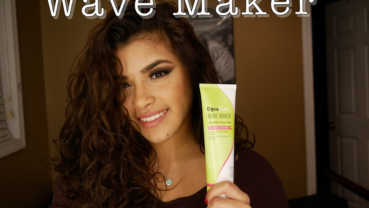How To Scrunch Straight Hair Diva Curl Wave Maker Youtube