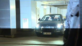 Soupçons de financement libyen:la voiture de N.Sarkozy sortie