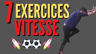 COMMENT AMÉLIORER SA VITESSE au Football: 7 EXERCICES SANS MATERIELS !