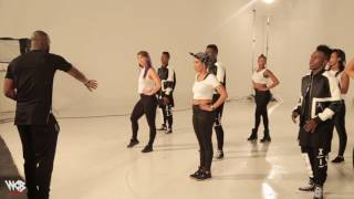 Diamond Platnumz ft P'square KIDOGO behind the scene (teaser 2)