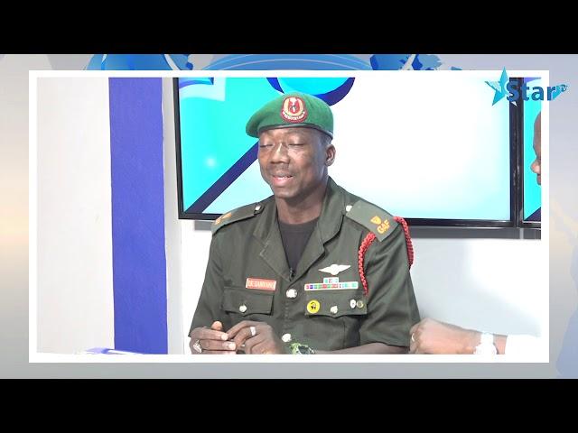 Army PRO clarifies the dismissal of Lamin Colley   XIBAARYI 12/04/2019