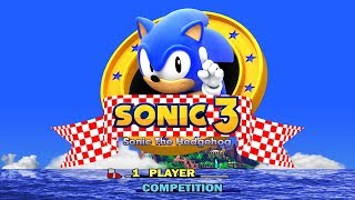 Sonic The Hedgehog 3 Mania Sounds Gameplay Parte 1 By CD2