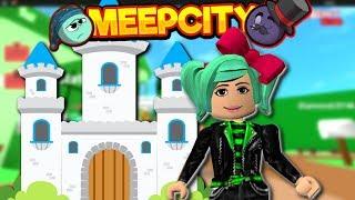 Je suis le QUEEN ! Roblox Meep City Castle Mise à jour