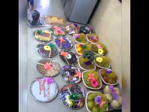 Arts varisai aarthi thattu decorations doovi for Arathi thattu decoration
