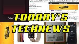 TJ TECHNEWS  Samsung Galaxy A,Fortnite Update,Apple Sale,Oneplus TV,Note 6 Pro Leaked,Mi8 Launch Date