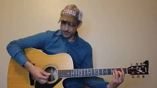 what makes you country - luke bryan - guitar lesson | tutorial