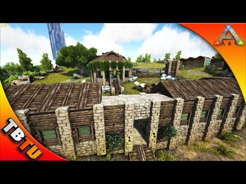 AWESOME ZOO ENCLOSURE! ARK HOME MAKEOVER E2 - Shredder's Zoo  - Ark Survival Evolved
