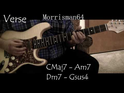 MIDNIGHT STAR -  SLOW JAM  -  Guitar Lesson with Chords