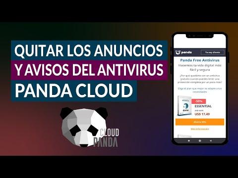 Cómo Quitar o Eliminar los Anuncios y Avisos del Antivirus Panda Cloud