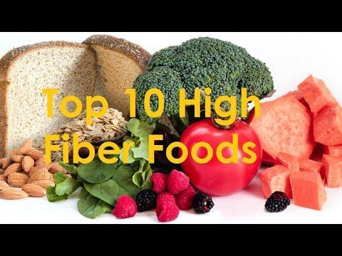 High Fiber Foods | Top 10 Foods High in Fiber 2018