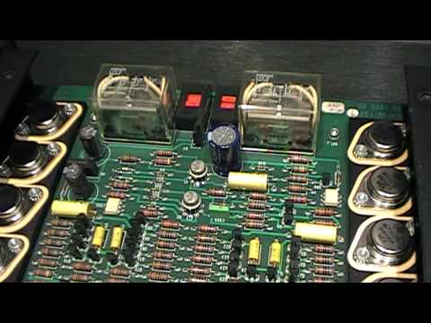 100 Amp Disconnect >> Krell KST-100 Coltrane - YouTube