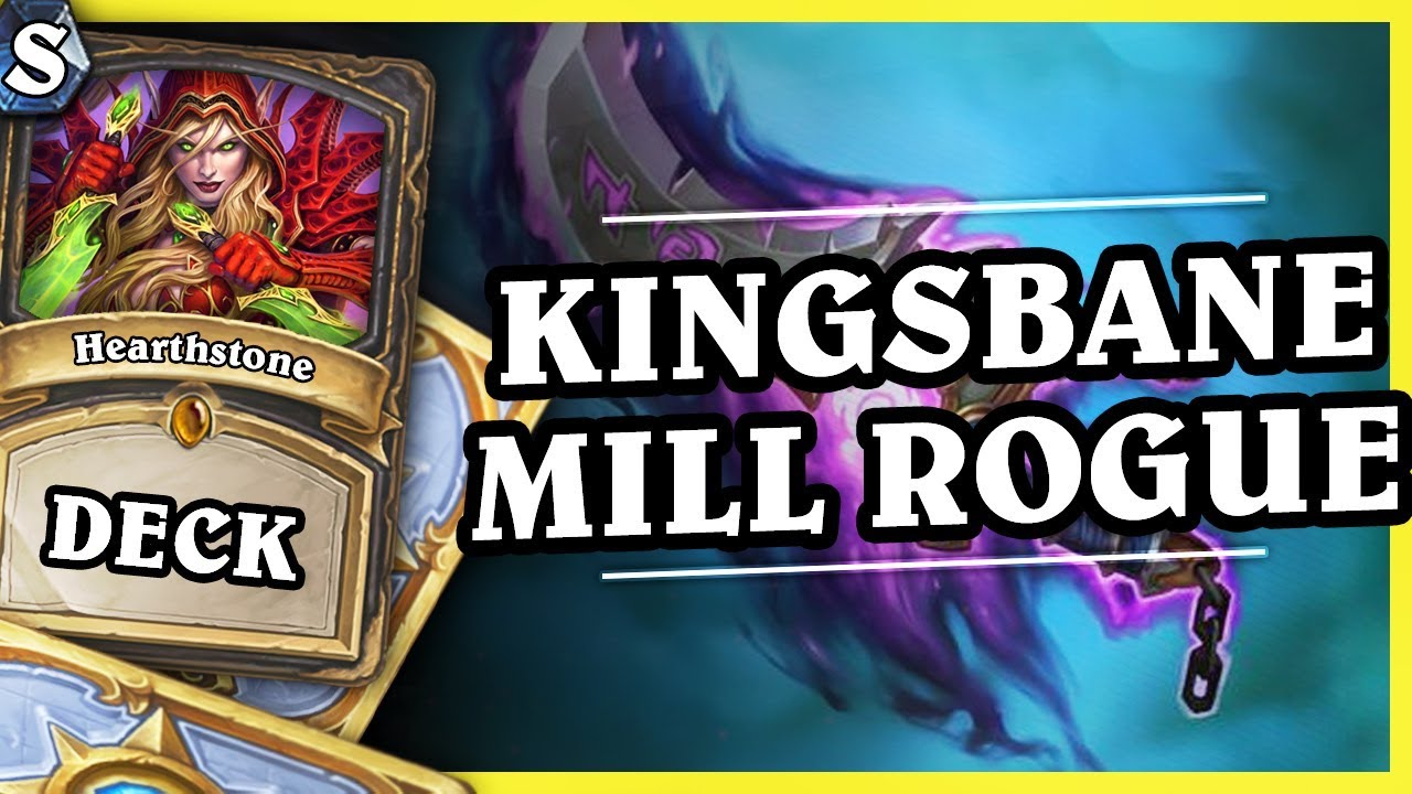 KINGSBANE MILL ROGUE – Hearthstone Deck Std (K&C)
