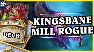 KINGSBANE MILL ROGUE - Hearthstone Deck Std (K&C)