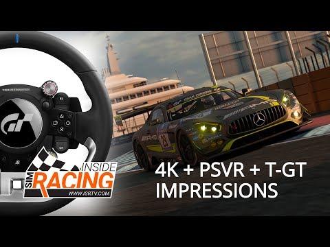 Gran Turismo Sport 4K + PSVR + Thrustmaster T-GT E3 2017 Impressions