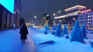 #Прогулка 61 Иду со съёмок РЕН-ТВ.