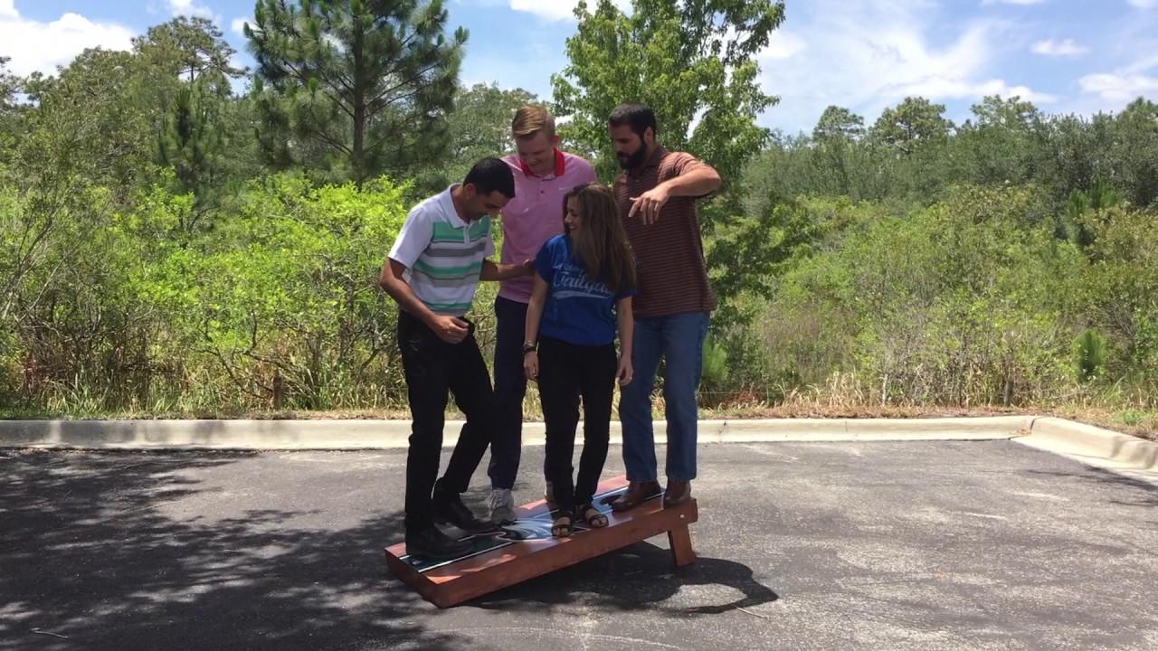 Cornhole Board Stress Test