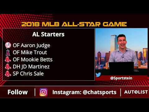 2019 MLB All-Star Game starters voting results: Astros lead with three selections; Mike Trout tops vote-getters