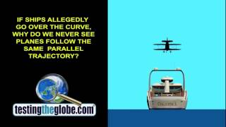 Do boats and planes prove Flat Earth?