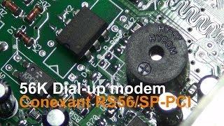 56k dialup modem sound
