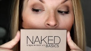 easy daytime smokey eye with urban decay naked basics