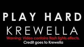 【Lyrics】PLAY HARD - KREWELLA