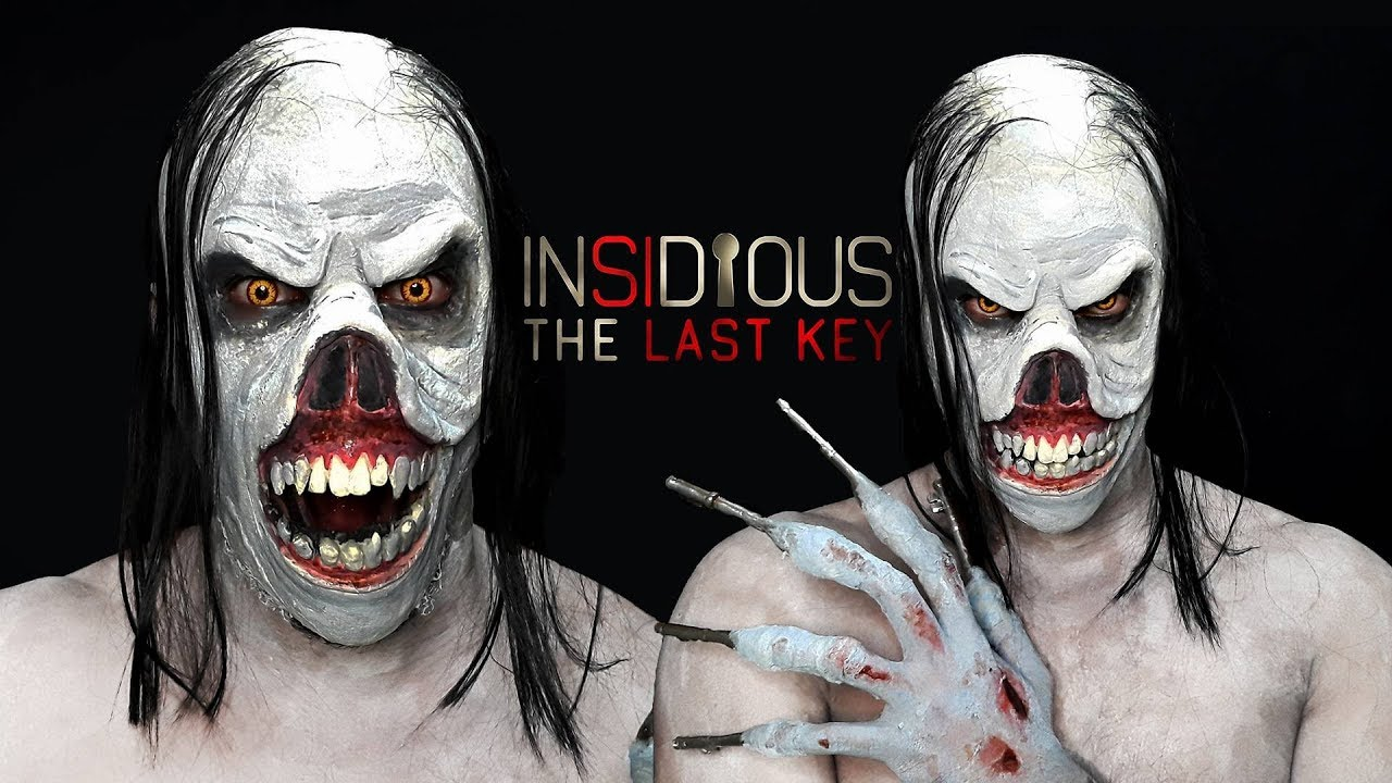 INSIDIOUS Key Face Demon makeup (Insidious: The Last Key ...